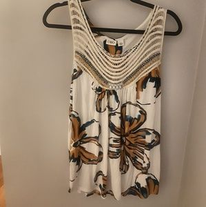 Floral Cato Tank Top